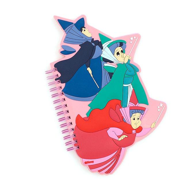 Disney Store cahier les fées, la belle au bois dormant