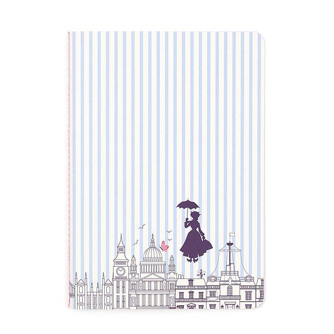 Disney Store bloc-Notes à rayures le retour de mary poppins