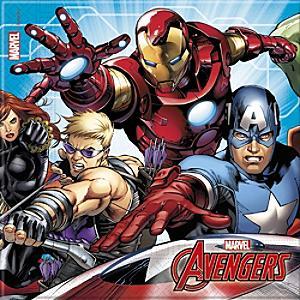 Marvel Avengers x20 Party Napkins - Marvel Gifts