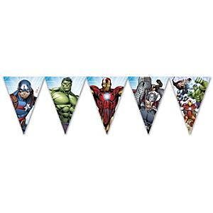 Marvel Avengers Flag Bunting - Marvel Gifts