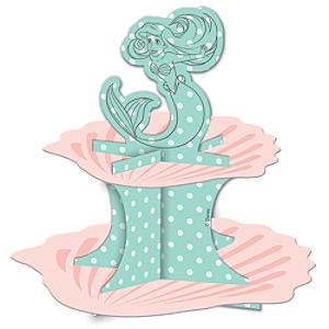 The Little Mermaid Cake Stand - Little Mermaid Gifts