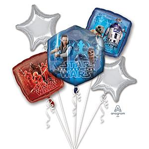 Star Wars: The Last Jedi Balloon Bouquet - Bouquet Gifts