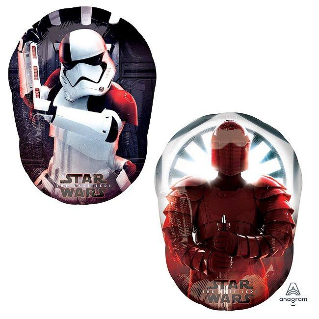 Image of Disney Store Palloncino SuperShape Stormtrooper, Star Wars: Gli Ultimi Jedi