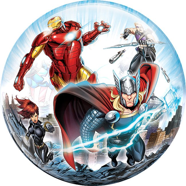 Ballon bulle Avengers