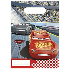 Disney Pixar Cars 3 6x Party Bags - Bags Gifts