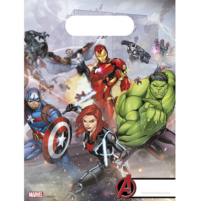 Image of Marvel Avengers, 6 sacchettini
