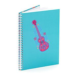 Guitar A5 Personalised Notebook, Disney Pixar Coco - Music Gifts