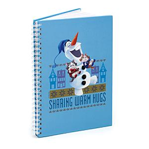 'Warm Hugs' A5 Notebook, Olaf's Frozen Adventure - Warm Gifts