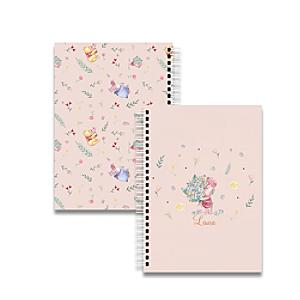 Winnie the Pooh and Friends A5 Notebook - Winnie The Pooh Gifts