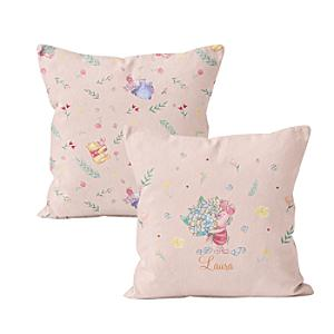 Winnie the Pooh and Friends Personalised Cushion - Winnie The Pooh Gifts