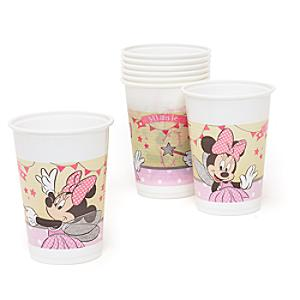Minnie Mouse 8x Fairy Party Cup Set - Fairy Gifts