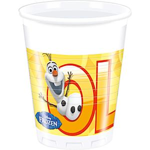 Olaf Party Cups, Set of 8