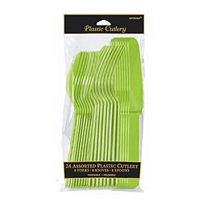 Green Cutlery 24 Piece Set - Cutlery Gifts