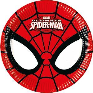 Platos pequeños fiesta Spider-Man (8 u.)