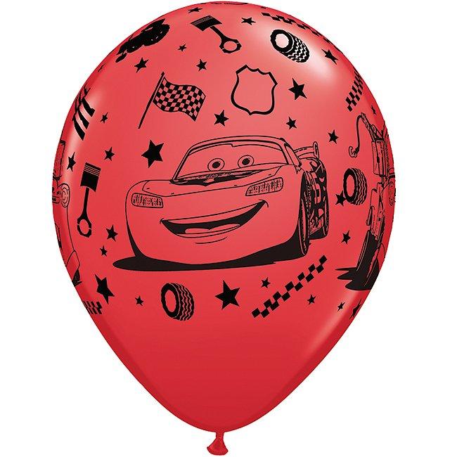 6 ballons Disney Pixar Cars