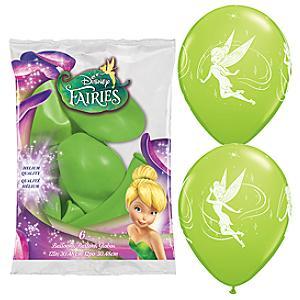 Disney Fairies 6x Balloons Pack - Disney Fairies Gifts