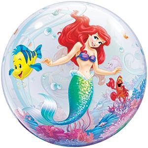 Rund Den lille havfrue ballon