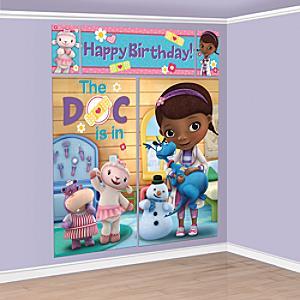 Doc McStuffins Party Scene Setter - Doc Mcstuffins Gifts