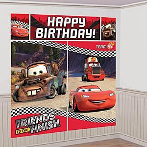 Disney Pixar Bilar partykuliss
