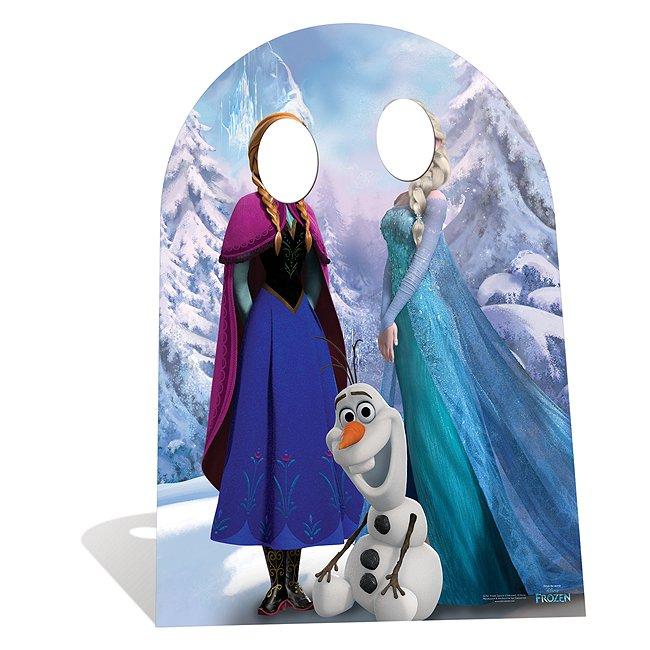 Disney Store Silhouette La Reine des Neiges avec support