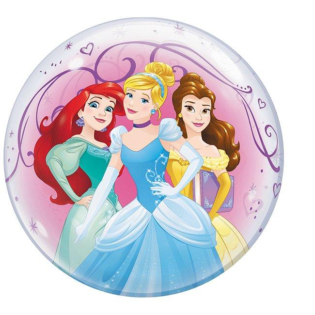Ballon bulle Princesses Disney