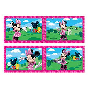 Minnie Mouse 4x Jigsaw Puzzles - Jigsaw Gifts