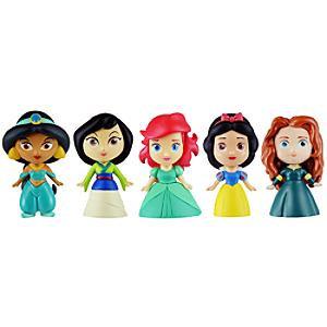 Ensemble de figurines constructibles Princesses Disney