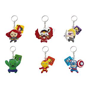 Avengers ,portachiavi portafortuna con personaggio a sorpresa