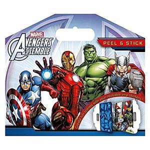 Marvel Avengers Assemble Peel And Stick Sticker Pack - Marvel Gifts
