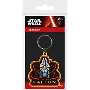 Porte-clés Faucon Millennium Star Wars