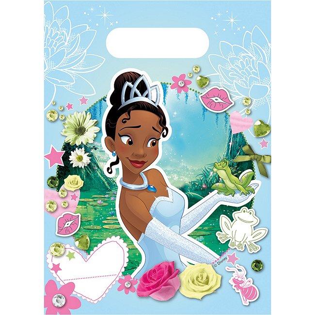 6sachets cadeaux Tiana, La Princesse & la Grenouille
