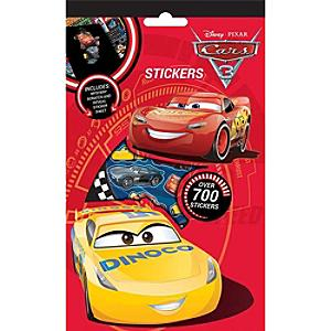 Disney Pixar Cars 3 700+ Sticker Pack - Disney Cars Gifts