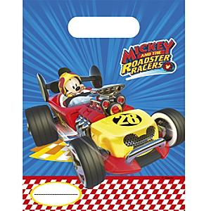 Mickey and the Roadster Racers x6 Party Bags - Bags Gifts