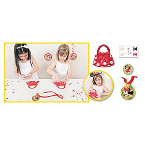 Minnie Mouse Handbag Decorate Party Game - Handbag Gifts