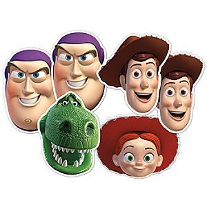 Toy Story 6x Masks Set - Toy Story Gifts