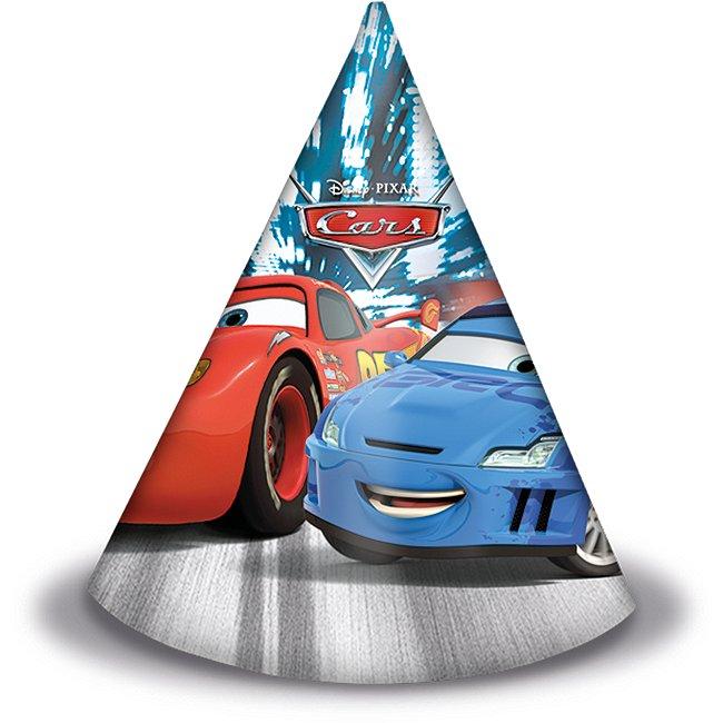 6 Chapeaux de fête disney pixar cars