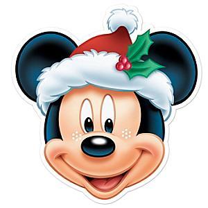 Máscara navideña Mickey Mouse