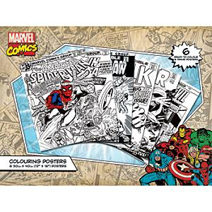 Avengers Colouring Posters, Set of 6 - Posters Gifts