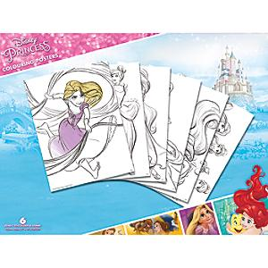 Disney Princess Colouring Posters, Set of 6 - Posters Gifts