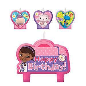 Doc McStuffins Birthday Candle Set - Doc Mcstuffins Gifts
