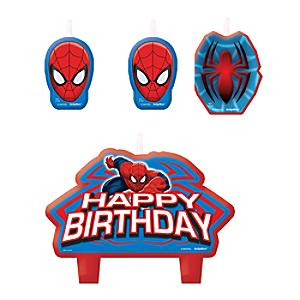 Spider-Man Birthday Candle Set - Marvel Gifts