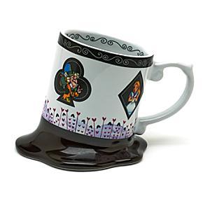 Alice In Wonderland Melted Mug, Disneyland Paris - Alice In Wonderland Gifts