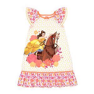 Chemise de nuit Belle pour enfants, La Belle et la Bête