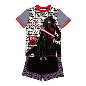 Star Wars: Das Erwachen der Macht - Kylo Ren hochwertiger Pyjama für Kinder
