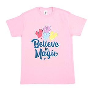 Mickey Mouse Believe in Magic Customisable T-Shirt For Adults