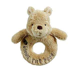 Winnie the Pooh Baby Rattle - Winnie The Pooh Gifts