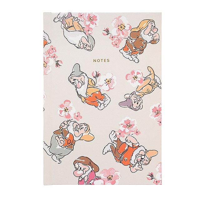 Cath Kidston x disney carnet a5 fleuri les 7 nains