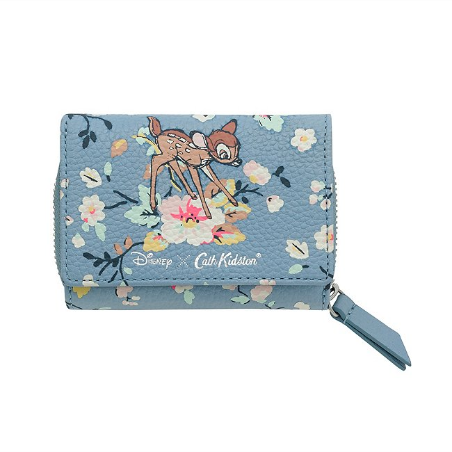 Image of Portafoglio compatto Bambi Cath Kidston x Disney