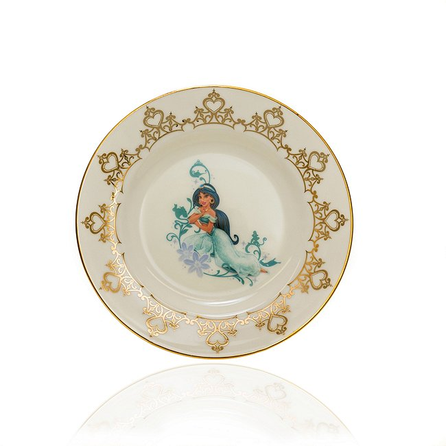 Image of English Ladies Co. piatto da collezione in porcellana Principessa Jasmine