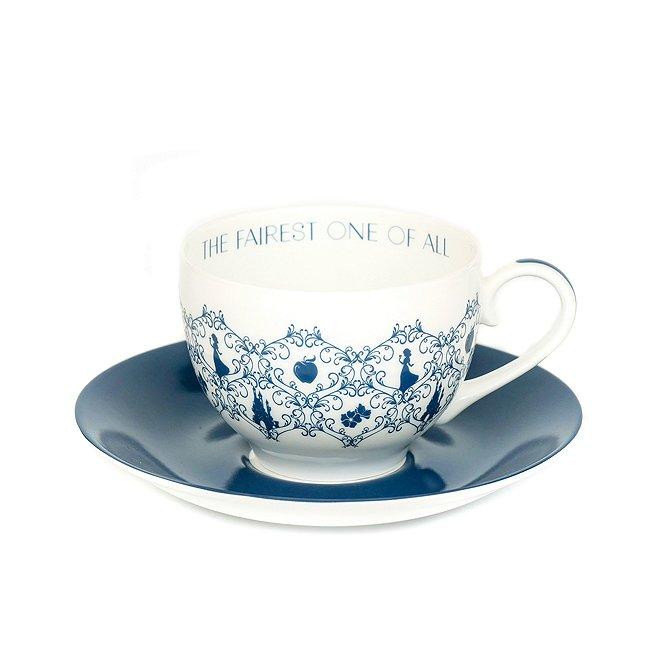 Image of Tazza da tè e piattino porcellana English Ladies Co. Biancaneve